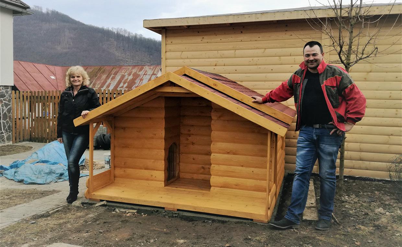 Egyedi kutyaházak